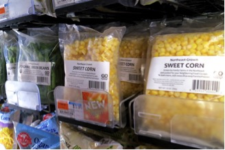Frozen Products at City Market / Onion River Co-op