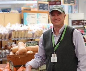 Ed Fox, General Manager, Co-op Food Stores